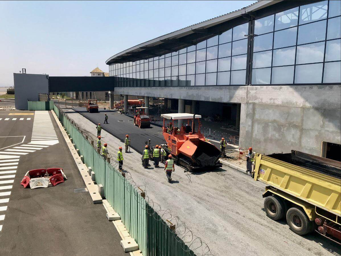 airport bitumen