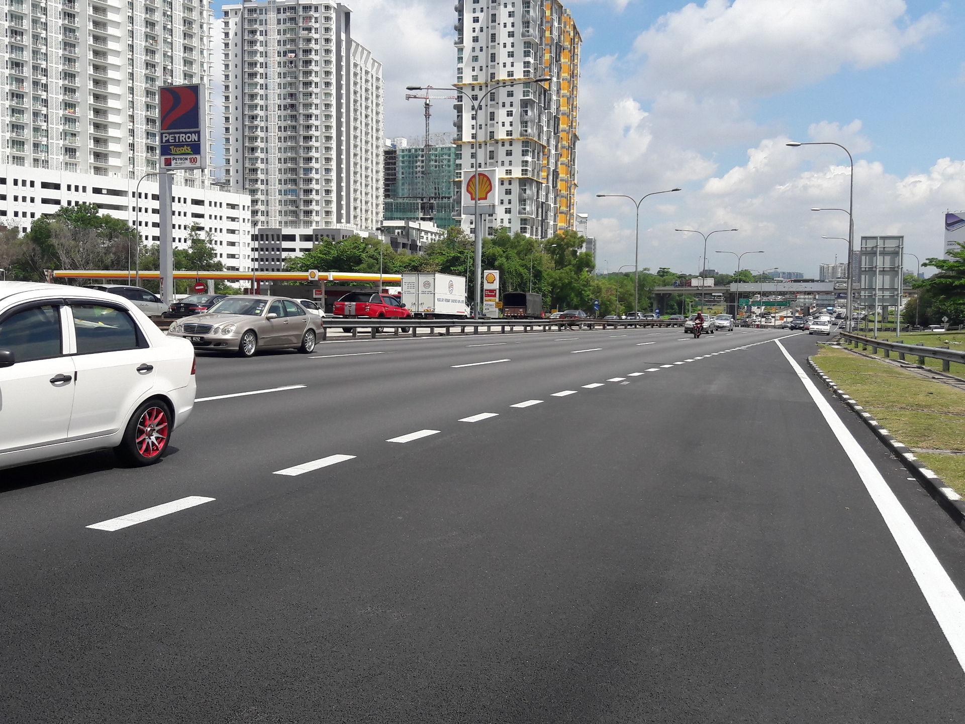 Autoroute en Malaisie