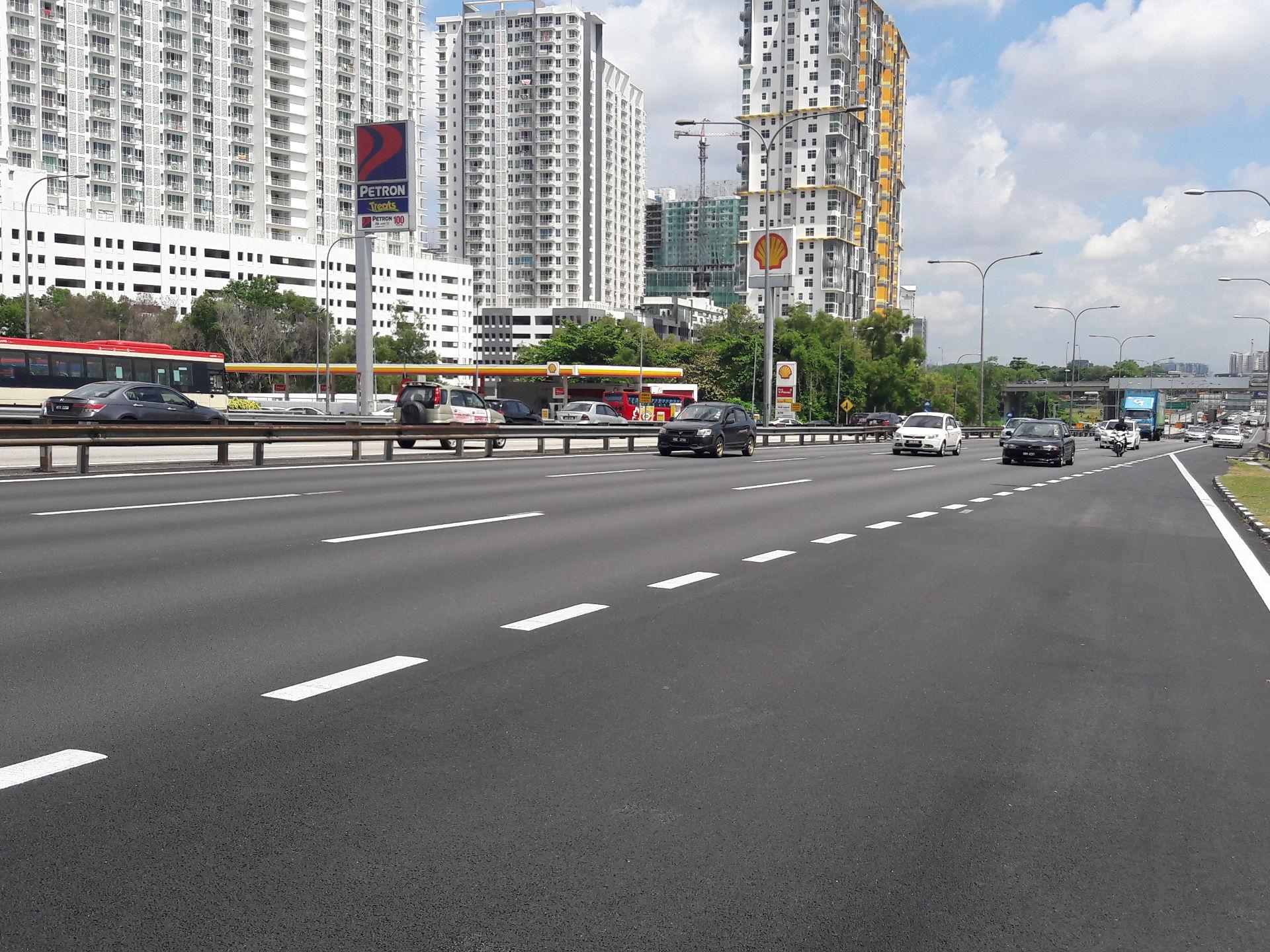 autoroute de klang en Malaisie