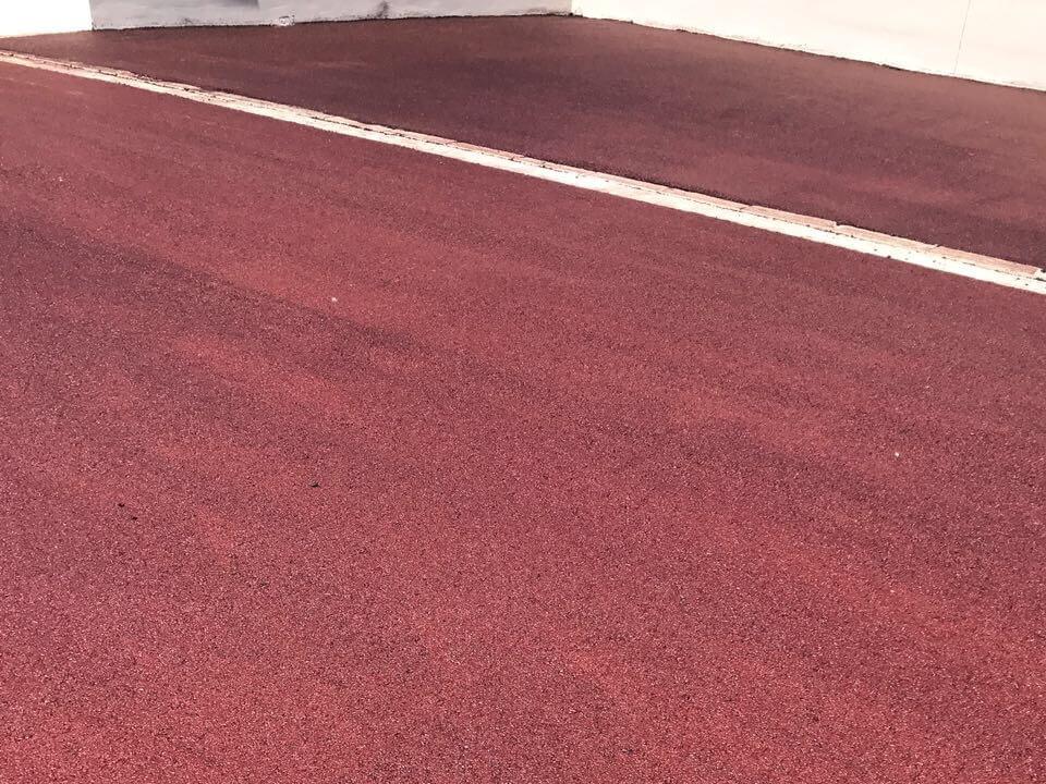 colored bitumen
