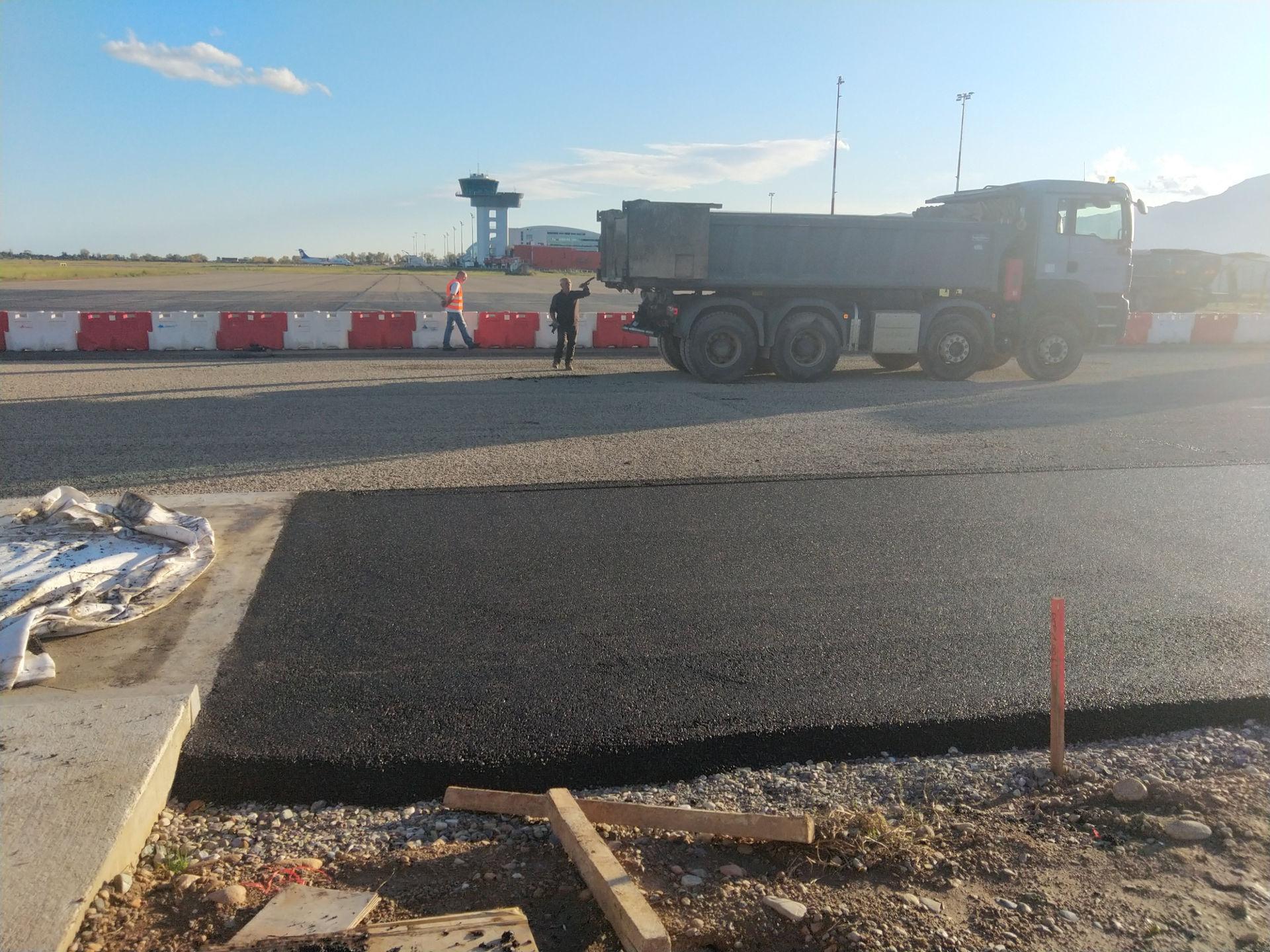 création piste aéroport bastia