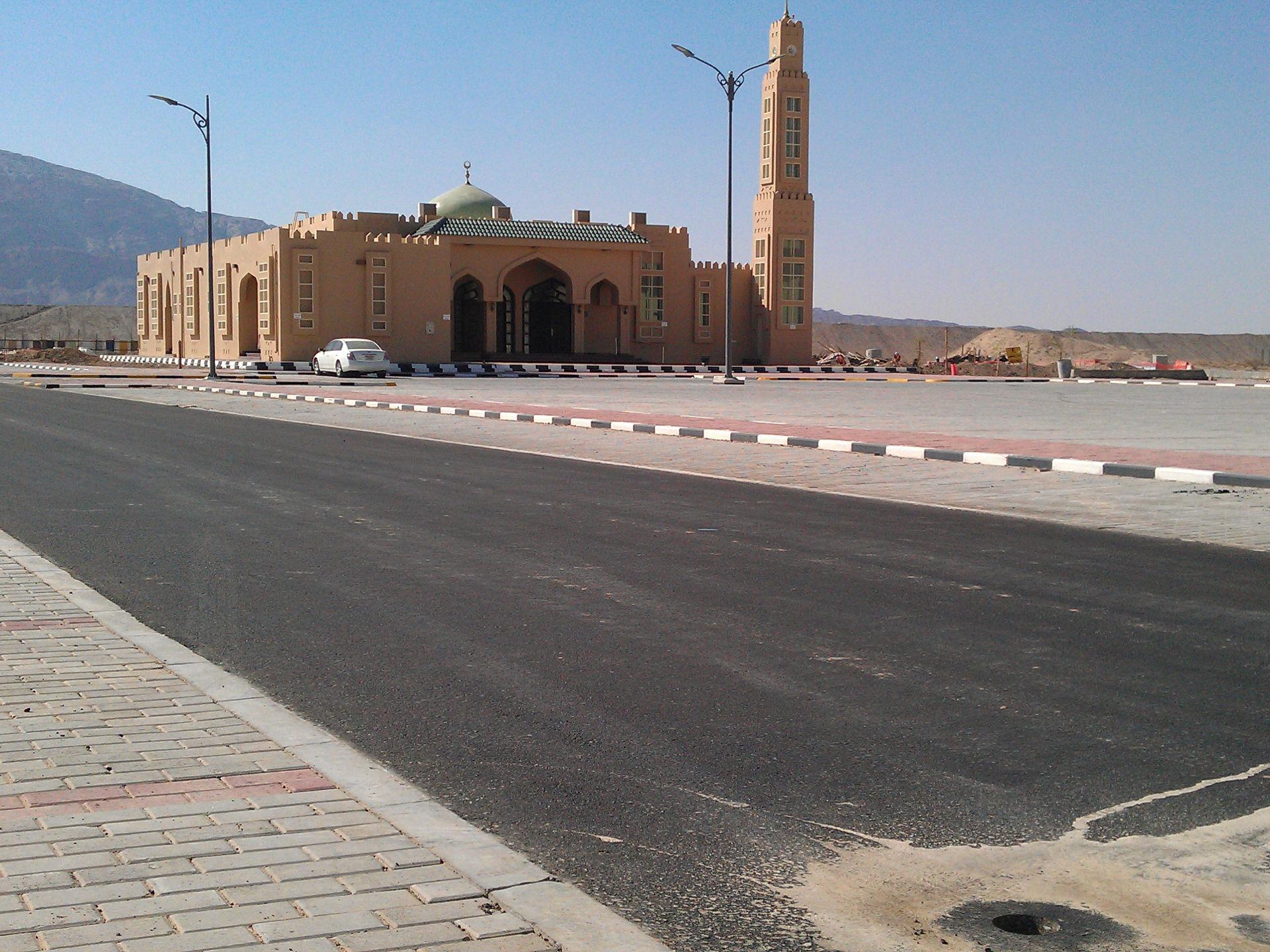 route d'Al Ain aux Emirats Arabes Unis
