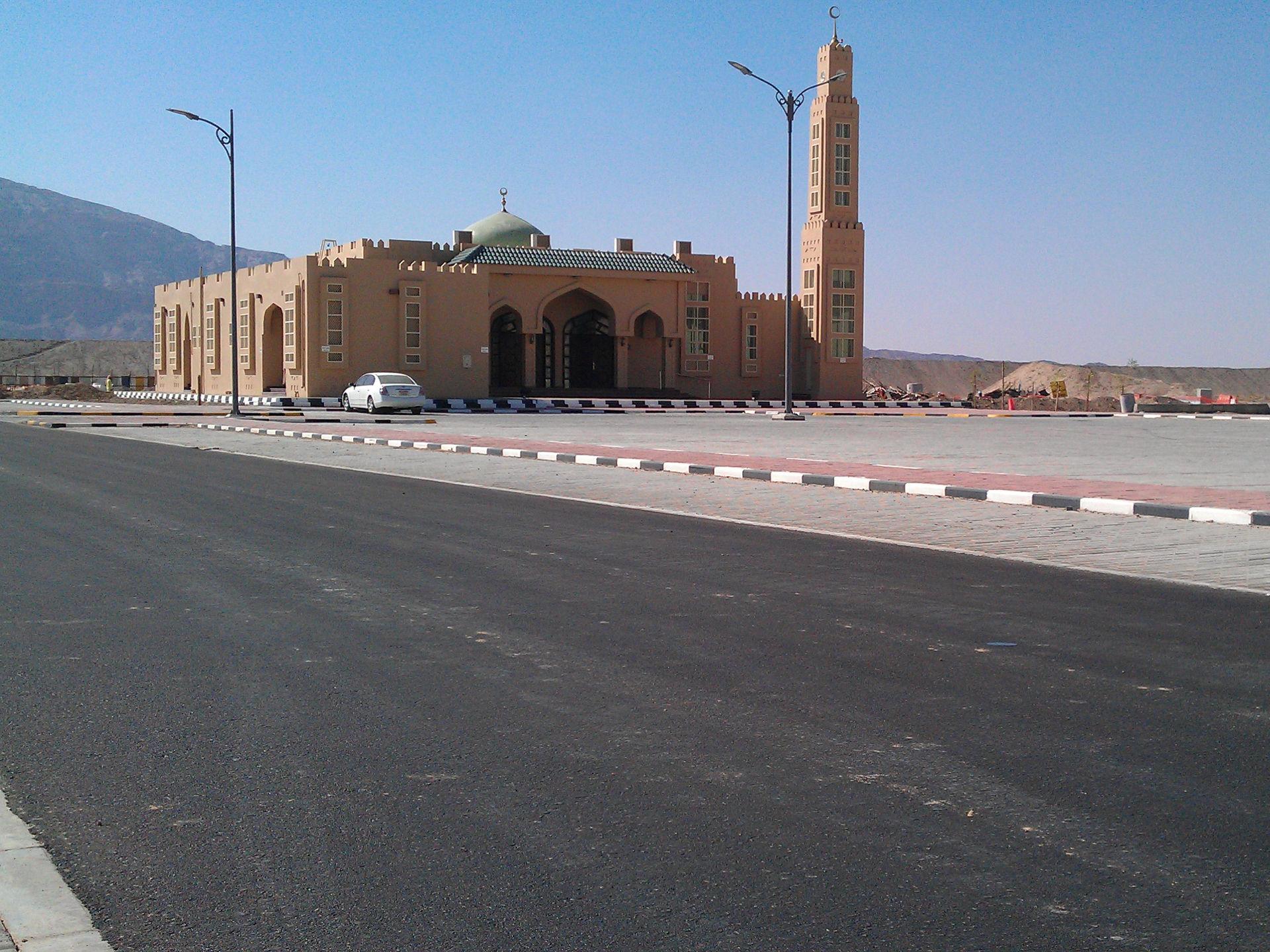 Route aux Emirats Arabes Unis